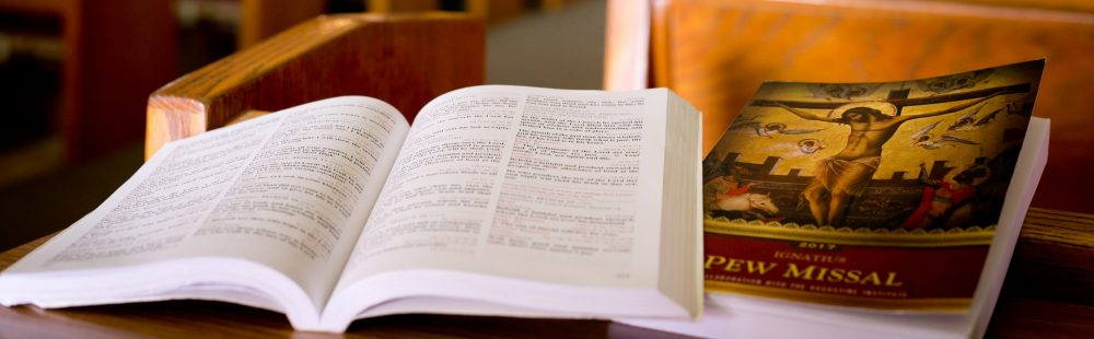 The Ignatius Pew Missal – Annual Subscription-Based Parish Missal